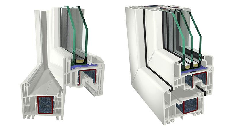Diefenstermacher-Energiesparfenster-Querschnitt
